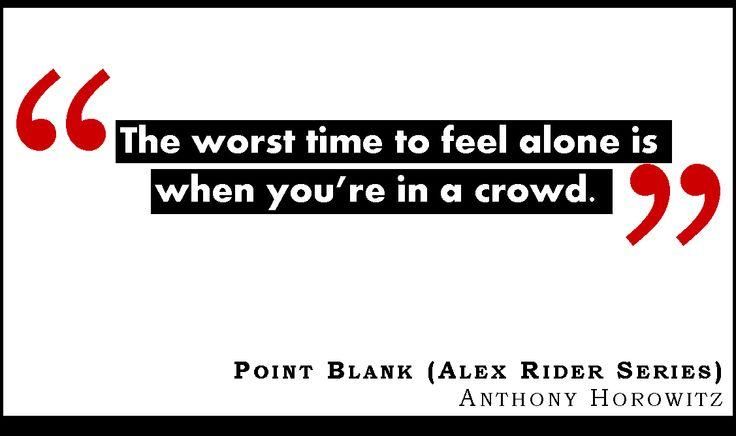 Point Blank, Alex Rider