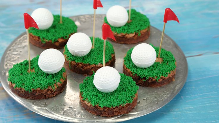 These Golf Ball Brownies Are Perfect For Father's Day