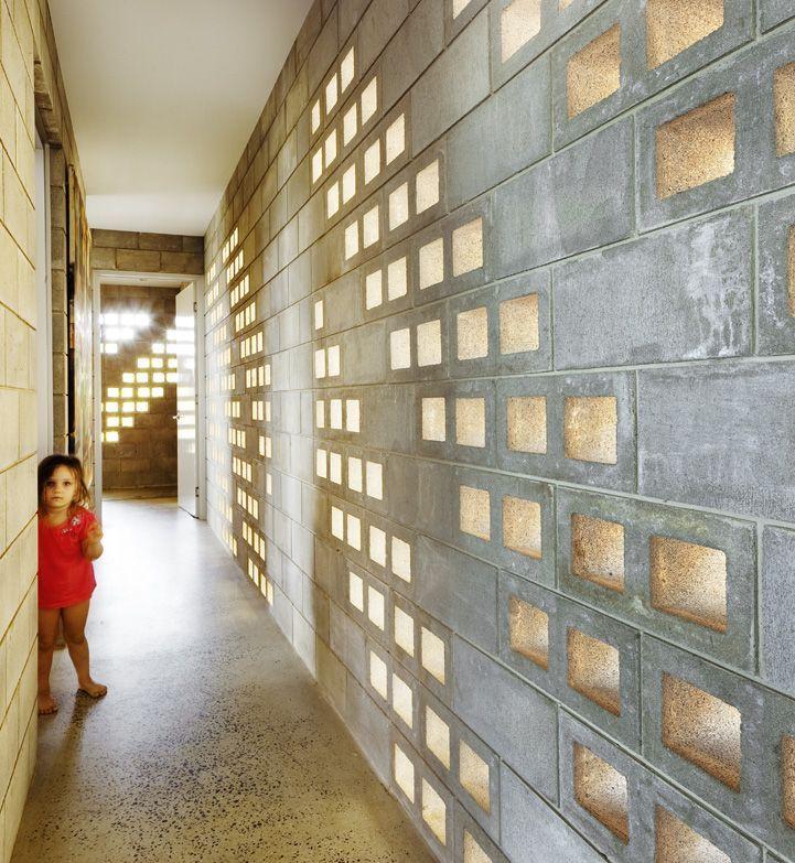 By Charles Wright Architects Pty Ltd. Concrete Masonry Walls