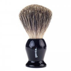 Gents Shaving Brush Pure Badger Ebony