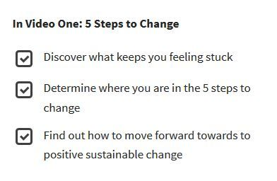5 Steps to Change- Video 1 in the Change Your Perspective, Change Your Life Series https://tami-brady.com/change/