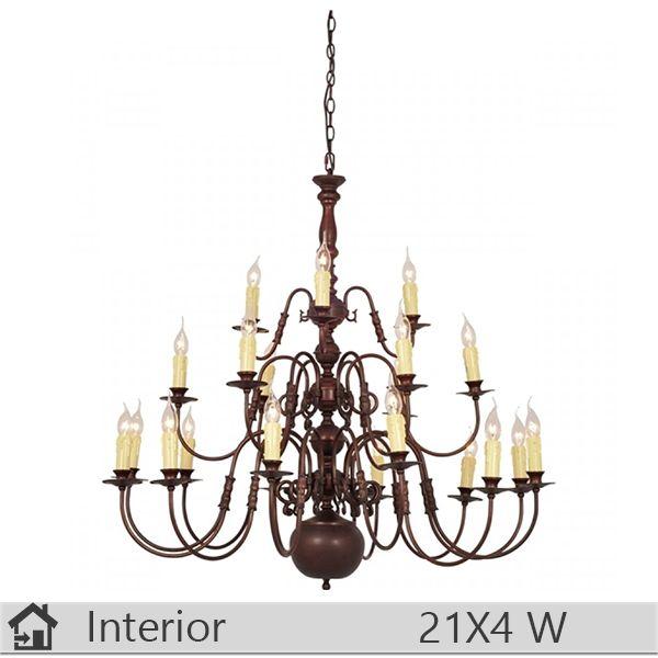 Candelabru iluminat decorativ interior Klausen, gama Royal, model nr21