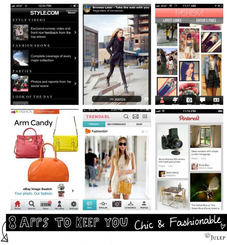 8 Fashionable Apps to Download Now!!