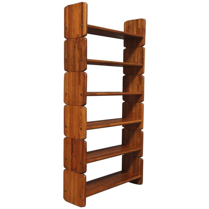 Anonymous Solid Oak Bookcase | 1stdibs.com