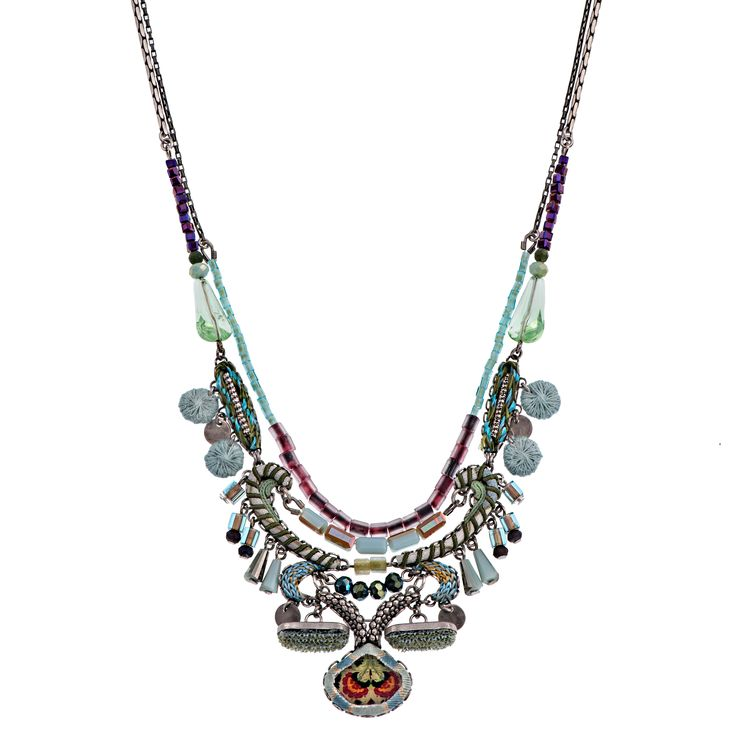 Aqua Riviera Necklace | Ayala Bar Hip Collection – Winter 2015/16