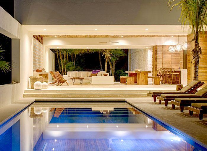 Casa Xixim Combine Natural Materials With Exotic View · Interior Design  PhotosHome ...