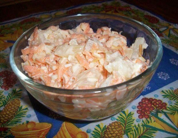 Самые вкусные рецепты: Морковный салат с ананасами сыром и чесночком