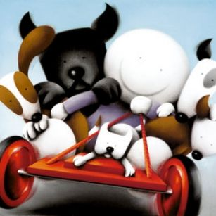Hold On Tight from Doug Hyde available now from Evergreen Art Cafe