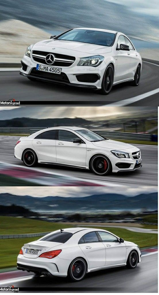 #Mercedes CLA 45 AMG my love, my destiny... I will have this car soon! I've waited since the superbowl for it to come out and it is finally starting to! Slowly but surely
