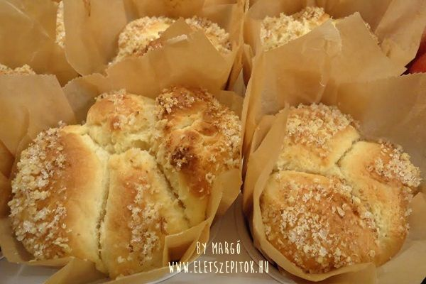 Muffin formában sült aranygaluska