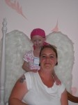 Hayley Okines - a true angel with her mum, Kerry