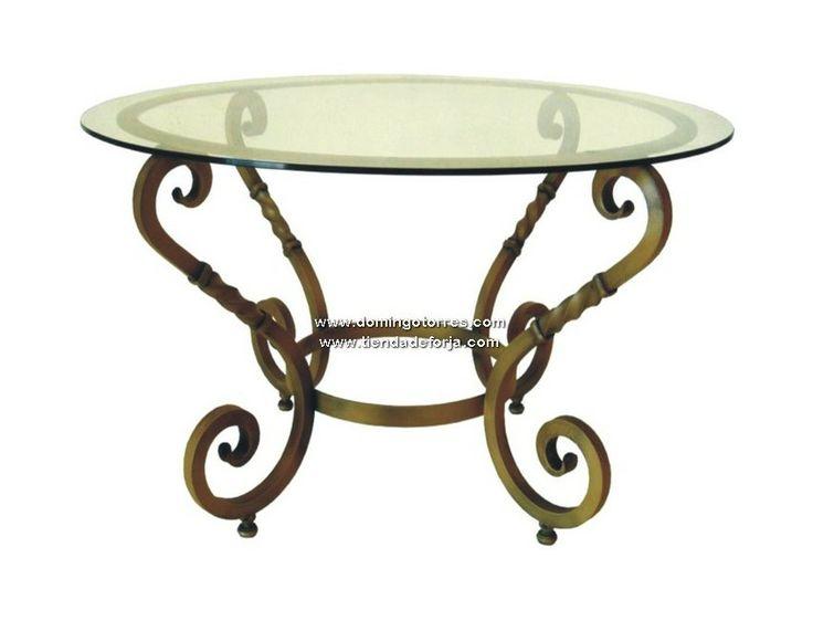 21 best images about mesas de hierro forjado on pinterest - Mesa de hierro ...
