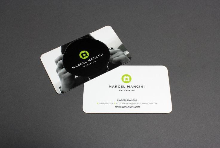 Marcel Mancini Fotografia business cards