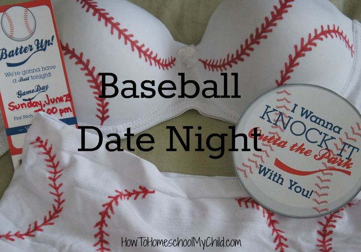 Baseball Date Night | HowToHomeschoolMyChild.com