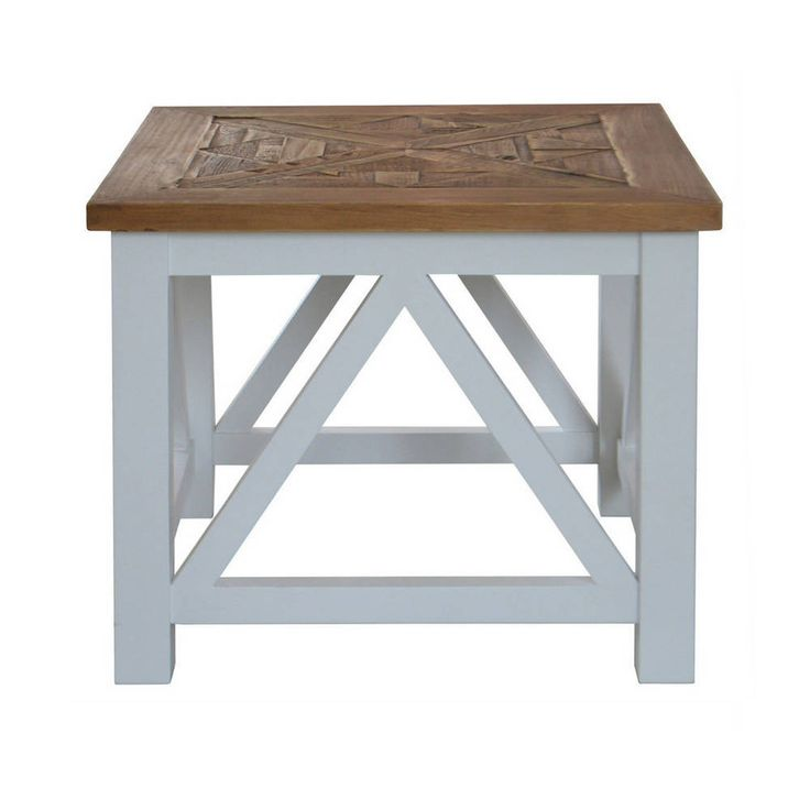 Portside Parquet Side Table - Maison Living