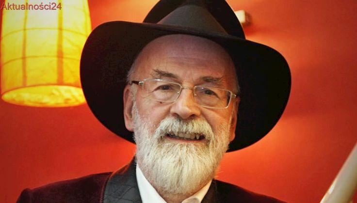Nieukończone powieści Pratchetta zniszczone. Rozjechałje walec parowy