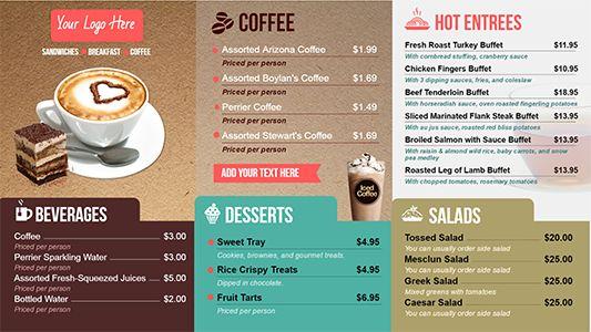 Best menu board design ideas on pinterest cafe