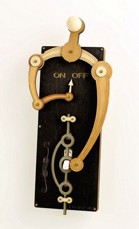 Black Toggle Light Switch Plate by GreenTreeJewelry on Etsy, $44.95