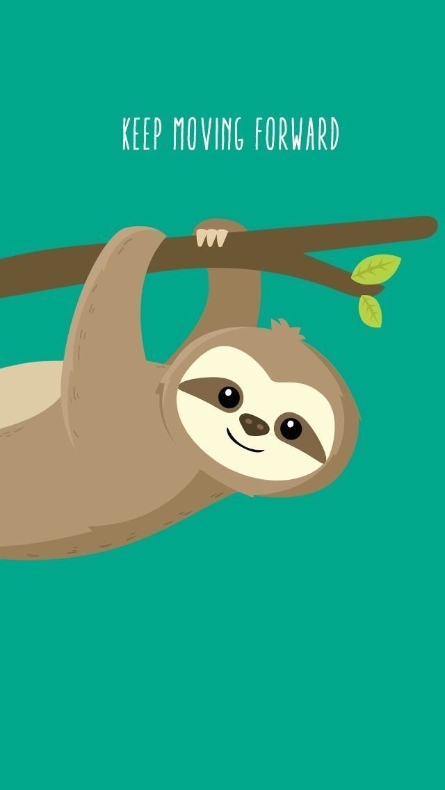 Pin By Nicole Andrea Gene Durante On Cartoon Phone 59 Cute Sloth Wallpapers On Wallpaperplay Cute Sloth Discovered By Mayavy In 2020 Cute Sloth Sloth Sloth Drawing