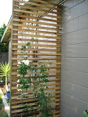 deck trellis modern - Google Search