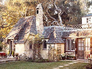 verbena cottage: Fairy Tale Cottages of Hugh Comstock