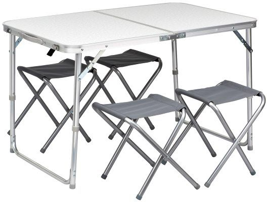 Picknickbord med 4 pallar