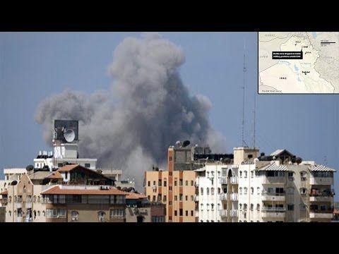 US airstrikes on Iraq begins -  US warplanes attack drop Bombs ISIS Iraq 8/8/2014