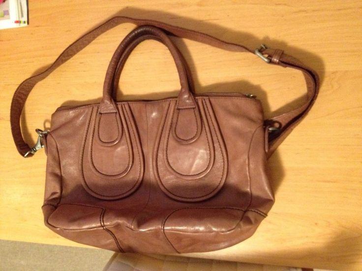 Liebeskind Tasche Echt Leder Cognac Braun leather