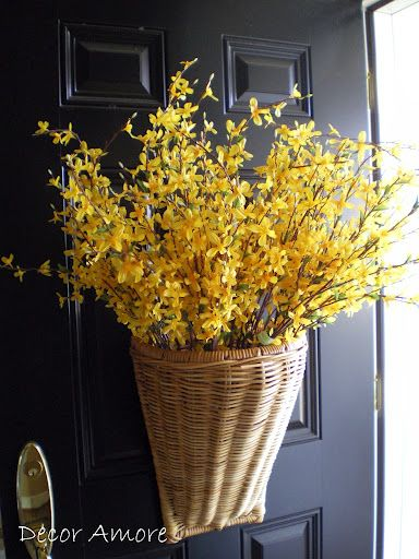 Dress up the front door for Spring!