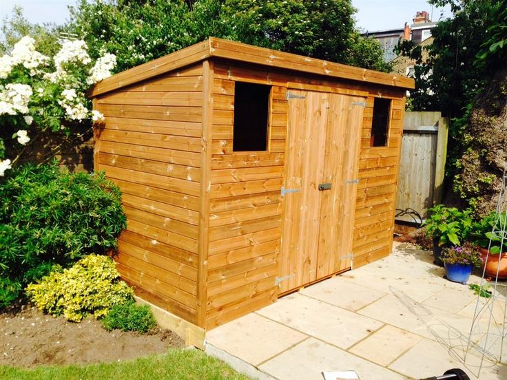 easyshed 10x5 pent c tanalised wood garden shed - Garden Sheds 10 X 5