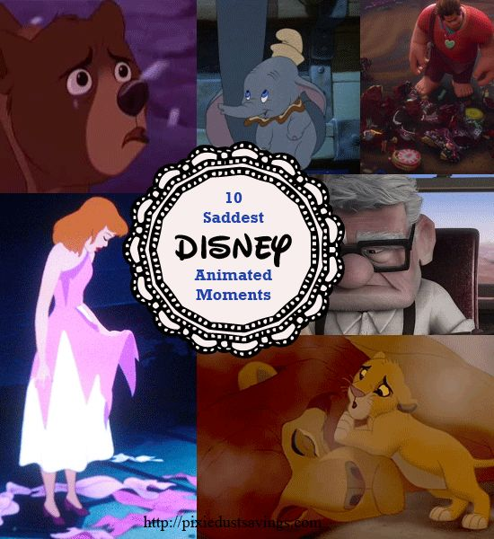 10 Saddest Disney Animated Moments