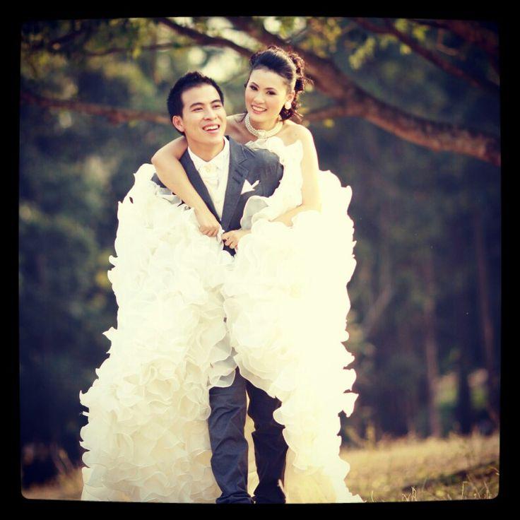 Pre photo wedding
