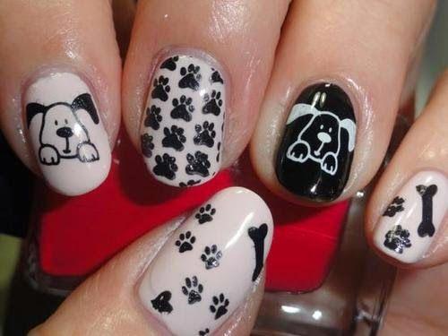 ver uñas decoradas faciles, bonitas y modernas, para descargar con ...