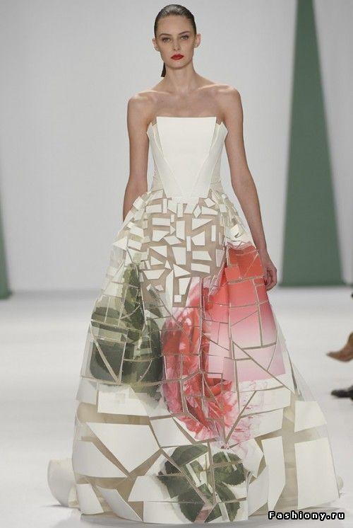 Необычные платья 2015