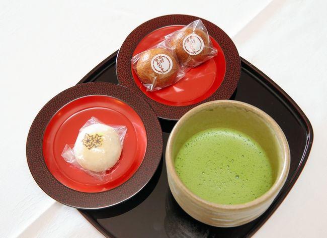 羽生善治名人のおやつ 抹茶とまんじゅう