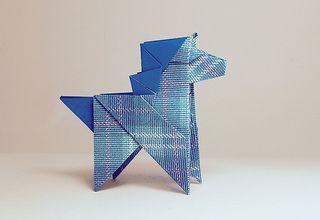 Horse Origami