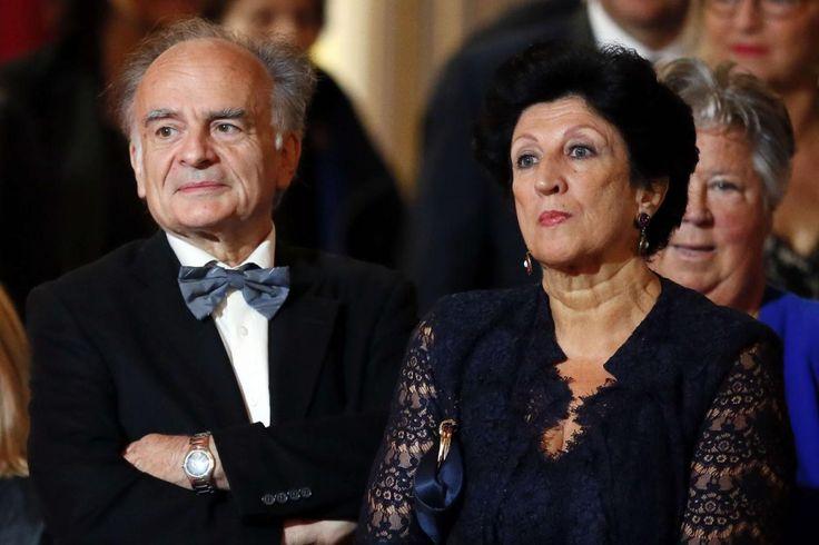 Jean-Michel Macron et Françoise Nogues-Macron
