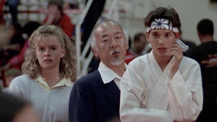 Pat Morita in The Karate Kid (1984)