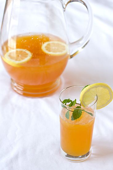 Ginger Tea Lemonade - My former roommate would make this. And then we ...