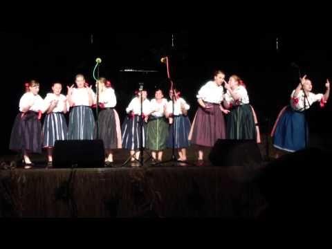 Slovácký rok v Kyjově 2015 - FS Salajka Dambořice - Klebetnice - YouTube