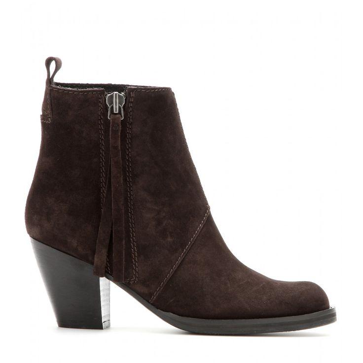 Acne Studios - Short Pistol suede ankle boots - mytheresa.com GmbH