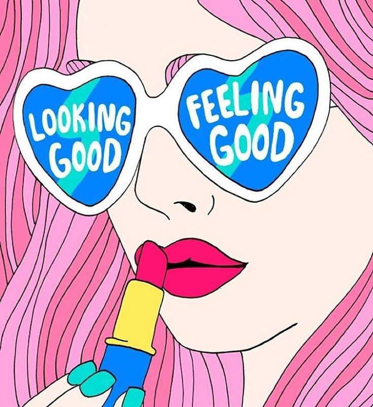 Actually wish this read around the other way. #feelgoodlookgood