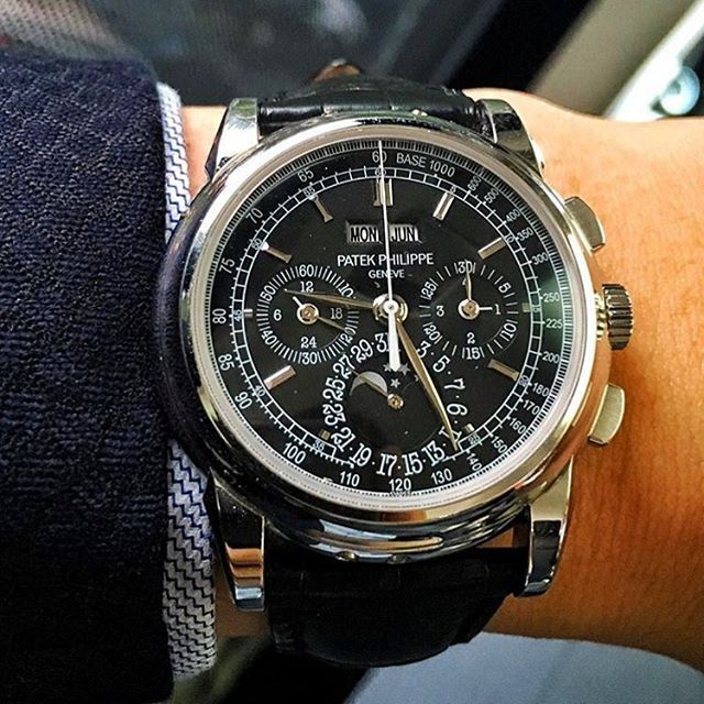"""Grand Complications"" Stunning rare Patek Philippe #GrandComplications black…"