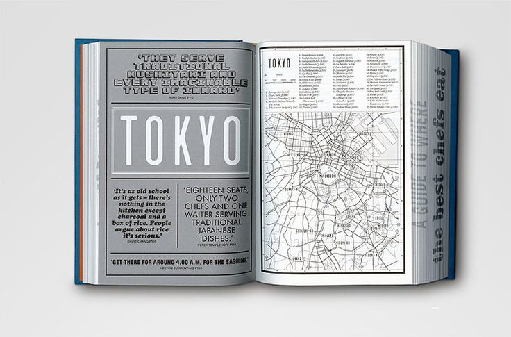 4   An Atlas Of Where Chefs Eat, Told In 50 Fonts And 700 Pages   Co.Design: business + innovation + design