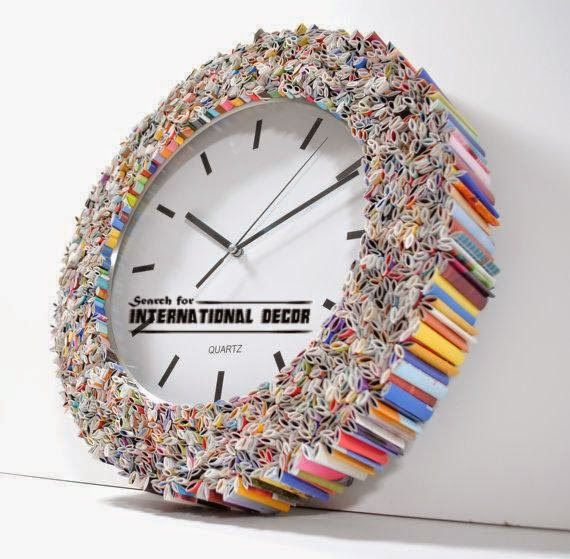 Cool Recycled Art And Crafts With Their Hands, Make Clocks