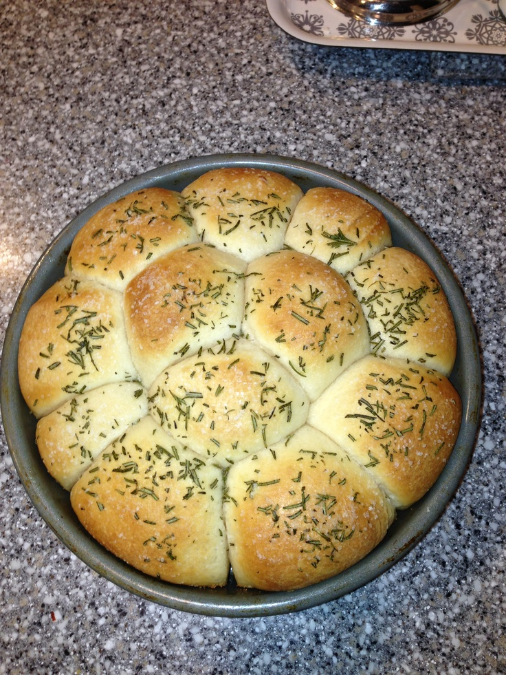 Buttered rosemary rolls | Foods n Drinks | Pinterest