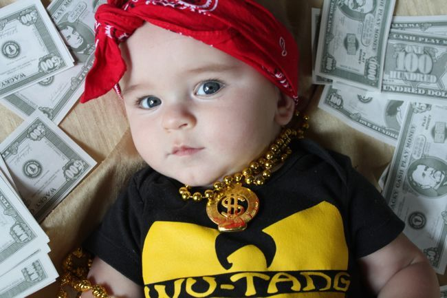 Wu Tang Gangster Baby Strawberry Mohawk Photography
