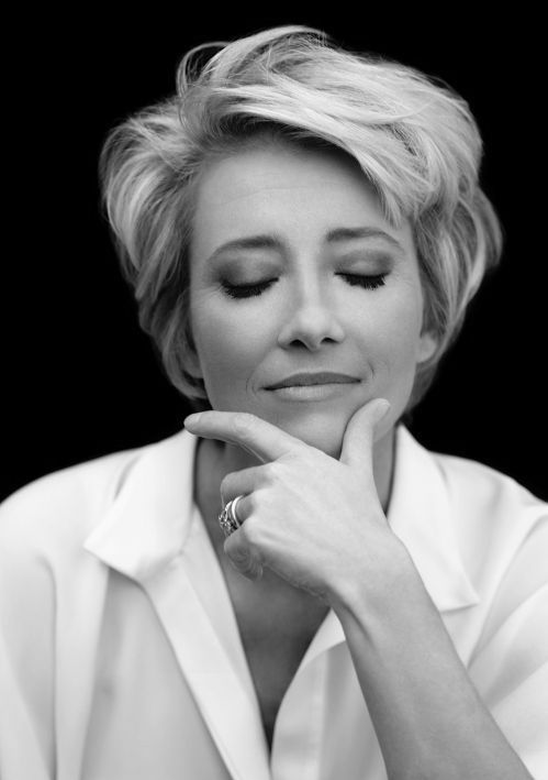 Emma Thompson - so beautiful (she seems also a kind hearted woman and funny)