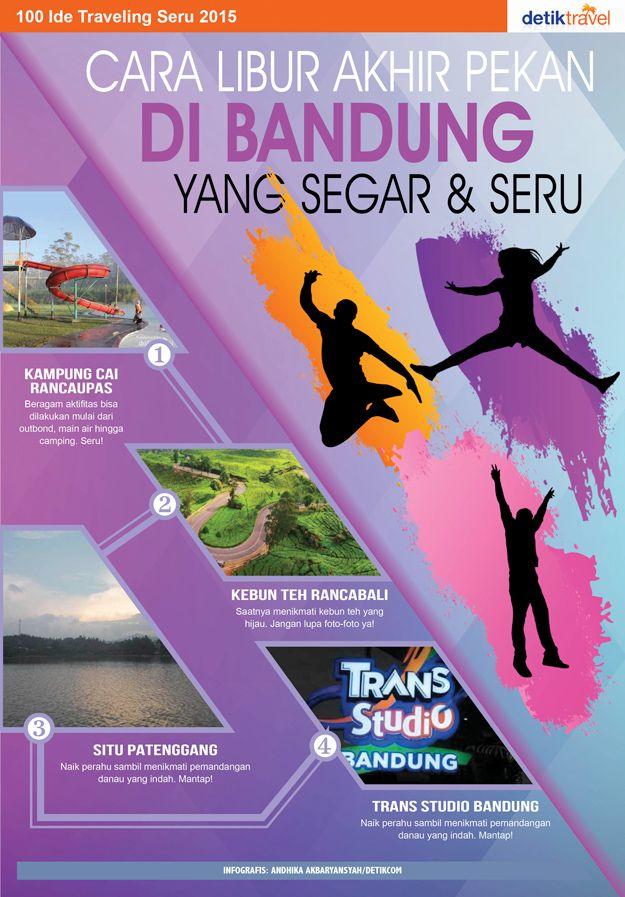Cara Libur Akhir Pekan di Bandung yang Segar & Seru