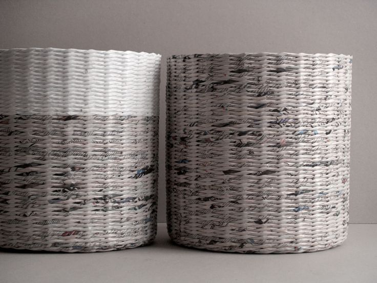 newspaper baskets   BLURECO